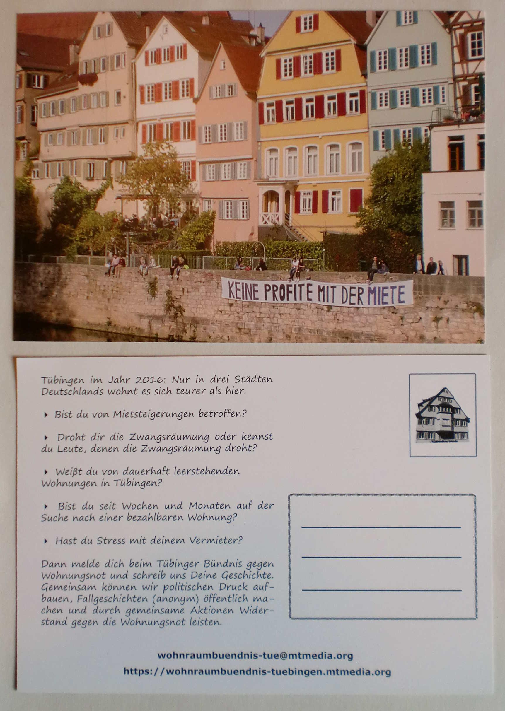 Keine Profite mit der Miete! | iL Tübingen on
